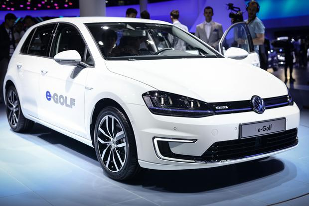 Volkswagen e-Golf: Frankfurt Auto Show featured image large thumb5