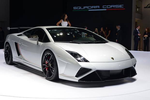 Lamborghini Gallardo Lp 570 4 Squadra Corse Frankfurt Auto Show