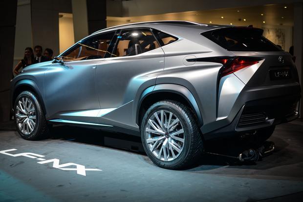 Lexus Lf Nx >> Lexus Lf Nx Frankfurt Auto Show Autotrader