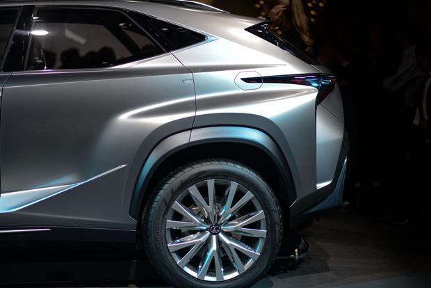 Lexus LF-NX: Frankfurt Auto Show featured image large thumb6