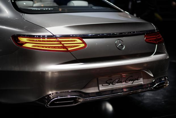 Mercedes-Benz Concept S-Class Coupe: Frankfurt Auto Show featured image large thumb6