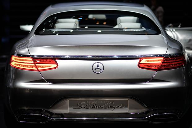 Mercedes-Benz Concept S-Class Coupe: Frankfurt Auto Show featured image large thumb7
