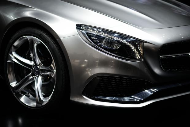 Mercedes-Benz Concept S-Class Coupe: Frankfurt Auto Show featured image large thumb8
