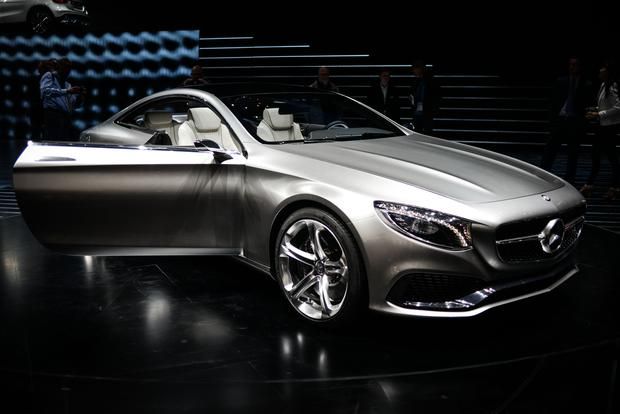 Mercedes-Benz Concept S-Class Coupe: Frankfurt Auto Show featured image large thumb0