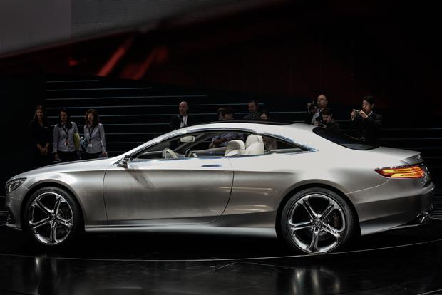 Mercedes-Benz Concept S-Class Coupe: Frankfurt Auto Show featured image large thumb2