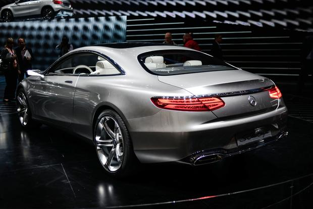 Mercedes benz concept s class coupe frankfurt auto show for How much is a 2014 mercedes benz s550