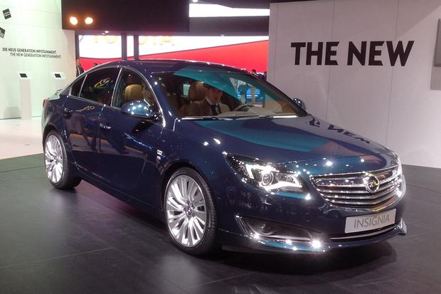 Opel Insignia: Frankfurt Auto Show featured image large thumb0