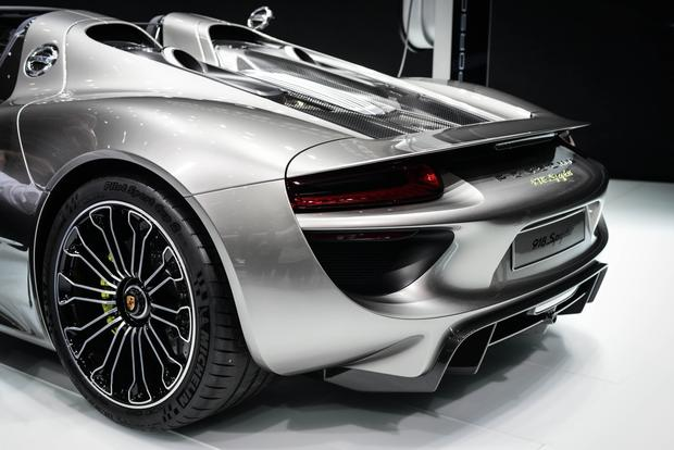 Porsche 918 Spyder: Frankfurt Auto Show featured image large thumb3