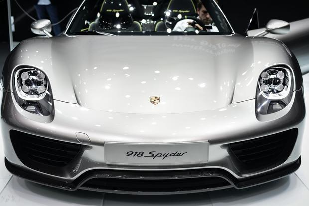 Porsche 918 Spyder: Frankfurt Auto Show featured image large thumb4