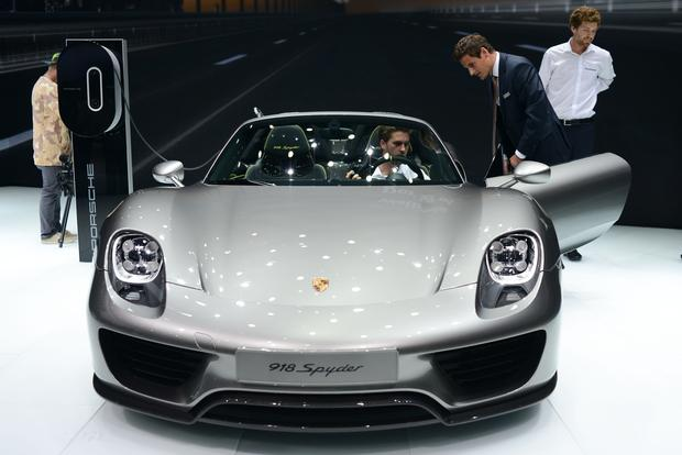 Porsche 918 Spyder: Frankfurt Auto Show featured image large thumb1