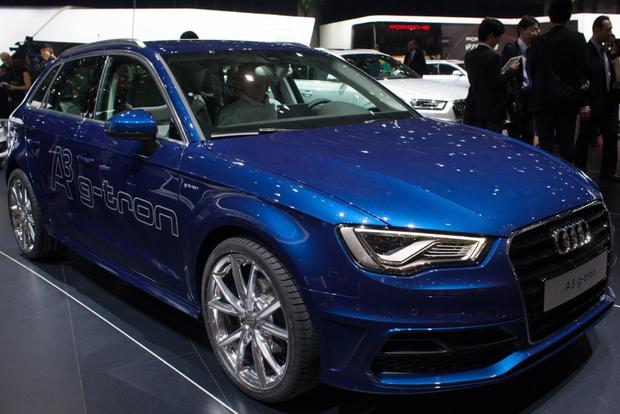 2013 Geneva Auto Show: Audi A3 Sportback G-Tron Runs on Natural Gas and Gasoline