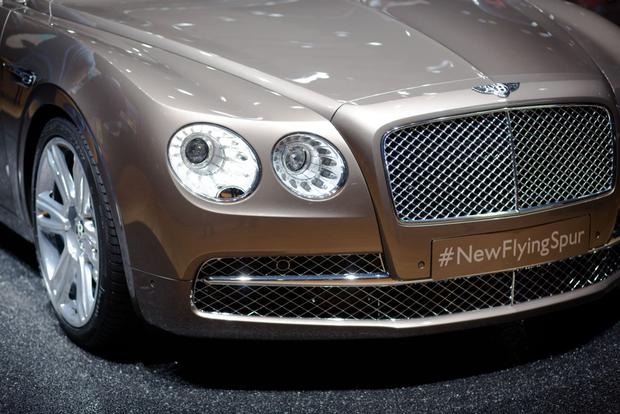 2014 Bentley Continental Flying Spur: Geneva Auto Show featured image large thumb2