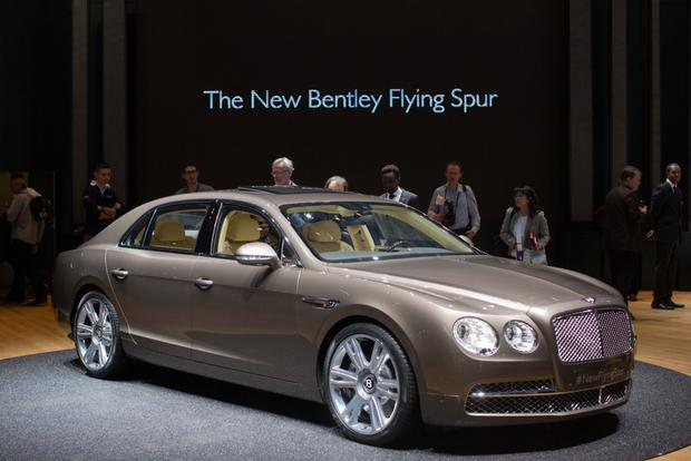 2014 Bentley Continental Flying Spur: Geneva Auto Show