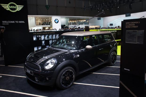 2014 MINI Clubman Bond Street Bows in Geneva featured image large thumb5