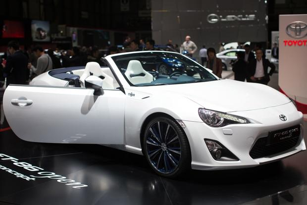 2013 Geneva Auto Show: Toyota FT-86 Open Concept featured image large thumb0