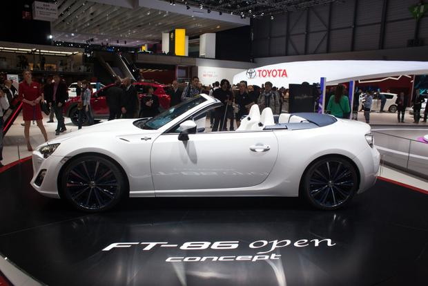 2013 Geneva Auto Show: Toyota FT-86 Open Concept featured image large thumb1