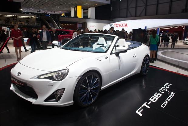 2013 Geneva Auto Show: Toyota FT-86 Open Concept featured image large thumb2