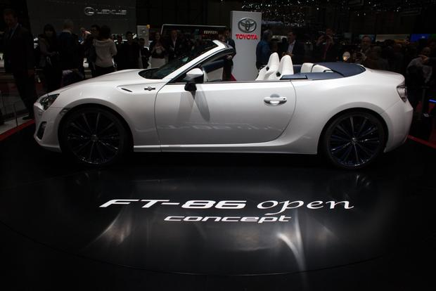 2013 Geneva Auto Show: Toyota FT-86 Open Concept featured image large thumb3