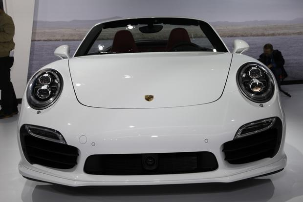 2014 Porsche 911 Turbo and Turbo S Cabriolet: LA Auto Show featured image large thumb1