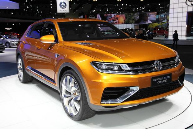 Volkswagen CrossBlue Coupe Concept: LA Auto Show featured image large thumb1