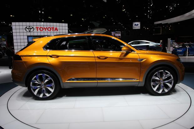 Volkswagen CrossBlue Coupe Concept: LA Auto Show featured image large thumb2