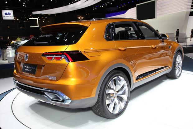 Volkswagen CrossBlue Coupe Concept: LA Auto Show featured image large thumb3