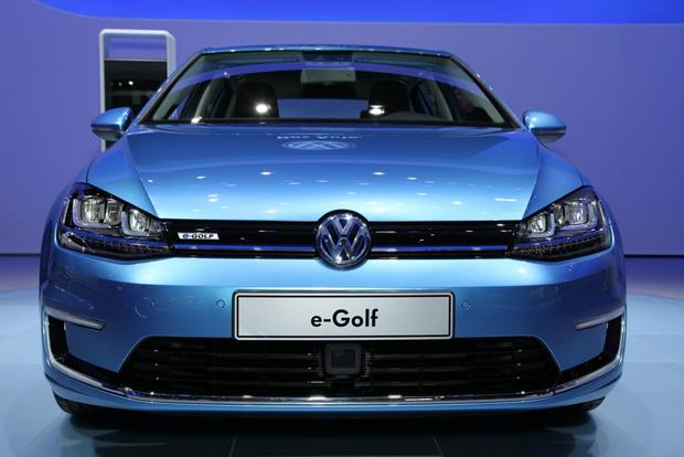 Volkswagen EGolf LA Auto Show Autotrader - When is the la car show
