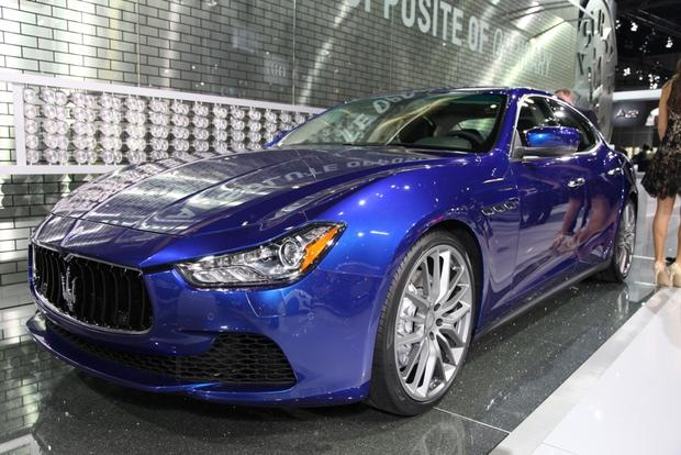 2014 maserati ghibli la auto show autotrader. Black Bedroom Furniture Sets. Home Design Ideas