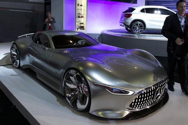 mercedes benz amg vision gt concept la auto show autotrader On mercedes benz amg vision gt price