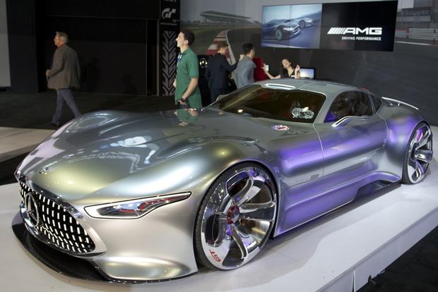 mercedes-benz amg vision gt concept: la auto show - autotrader