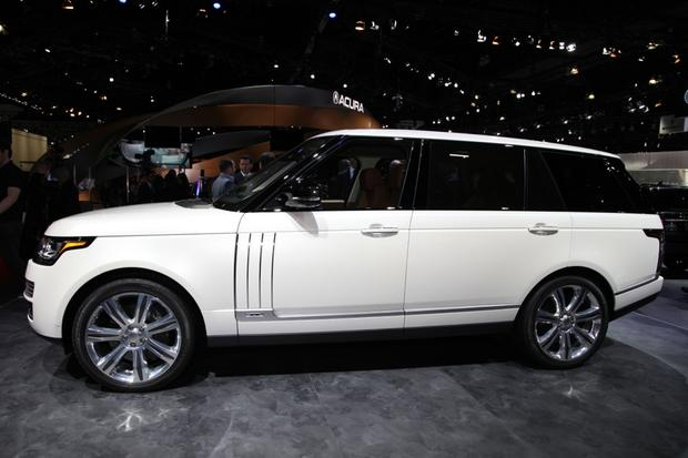 2014 land rover range rover long wheelbase la auto show autotrader. Black Bedroom Furniture Sets. Home Design Ideas