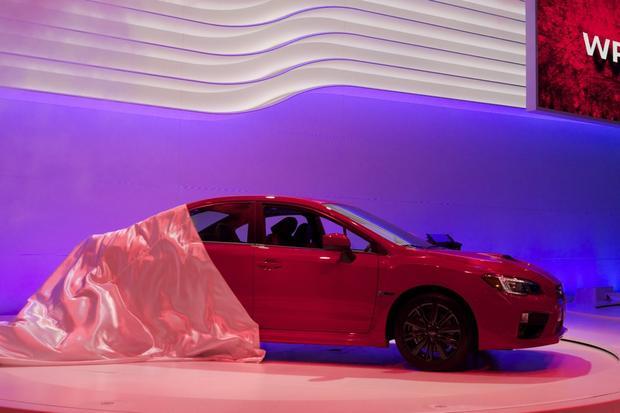 2015 Subaru WRX: LA Auto Show featured image large thumb0