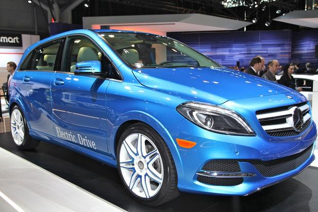 2014 Mercedes-Benz B-Class Electric Drive: New York Auto Show