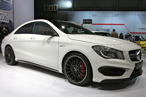 2014 Mercedes Benz CLA45 AMG: New York Auto Show featured image large thumb0