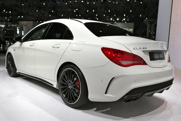 2014 Mercedes Benz CLA45 AMG: New York Auto Show featured image large thumb2