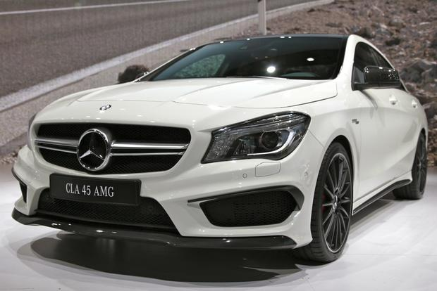 2014 Mercedes Benz CLA45 AMG: New York Auto Show featured image large thumb3