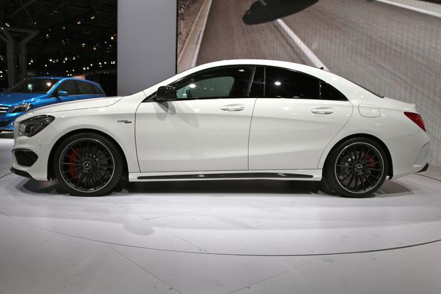 2014 Mercedes Benz CLA45 AMG: New York Auto Show featured image large thumb4