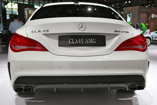 2014 Mercedes Benz CLA45 AMG: New York Auto Show featured image large thumb5