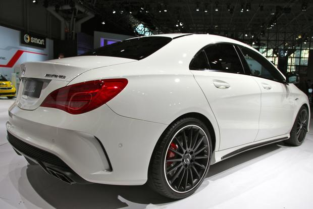 2014 Mercedes Benz CLA45 AMG: New York Auto Show featured image large thumb6