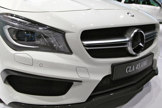 2014 Mercedes Benz CLA45 AMG: New York Auto Show featured image large thumb7