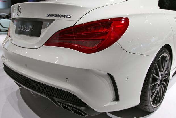 2014 Mercedes Benz CLA45 AMG: New York Auto Show featured image large thumb8