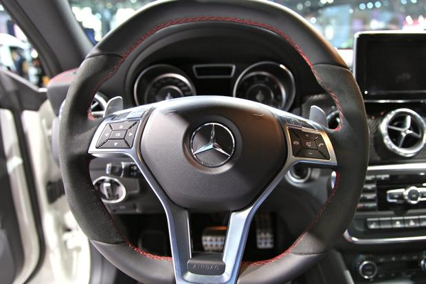 2014 Mercedes Benz CLA45 AMG: New York Auto Show featured image large thumb12