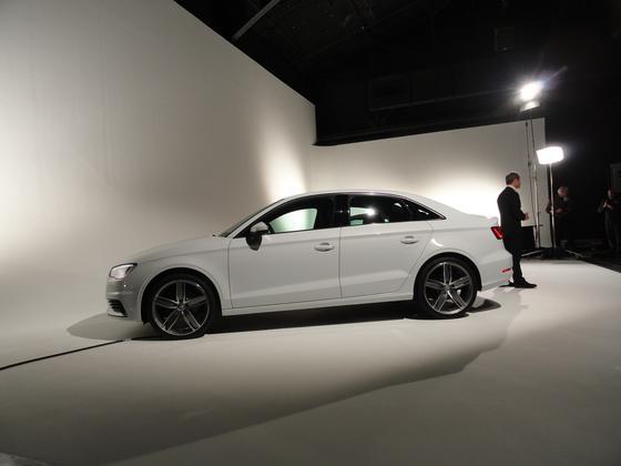 2015 Audi A3 Sedan: New York Auto Show featured image large thumb0