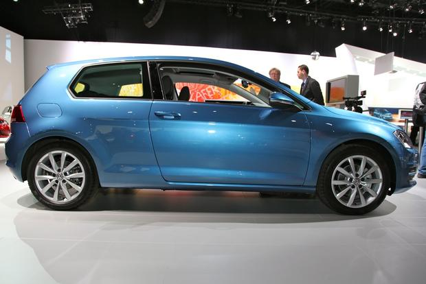2015 Volkswagen Golf: New York Auto Show