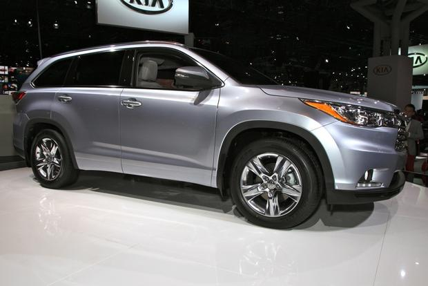 2014 Toyota Highlander: New York Auto Show featured image large thumb0