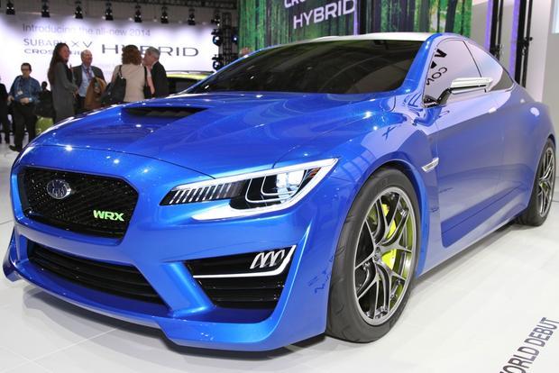 Subaru WRX Concept: New York Auto Show