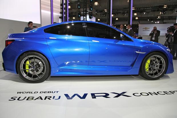 2014 Subaru WRx: New york auto show