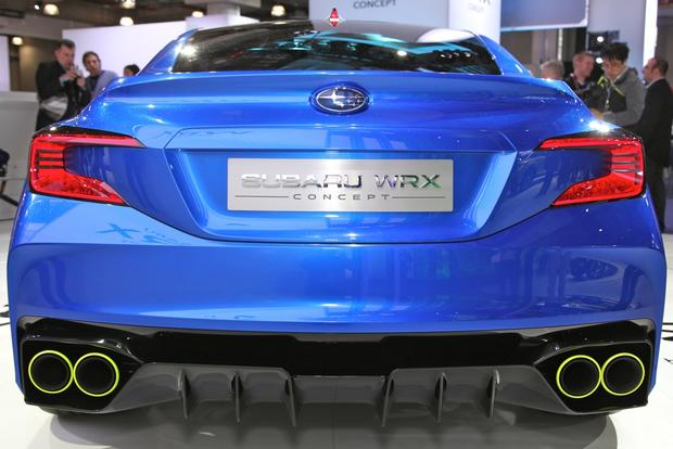 2014 Subaru WRx: New york auto show featured image large thumb4