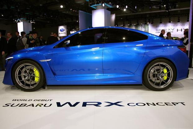 2014 Subaru WRx: New york auto show featured image large thumb7