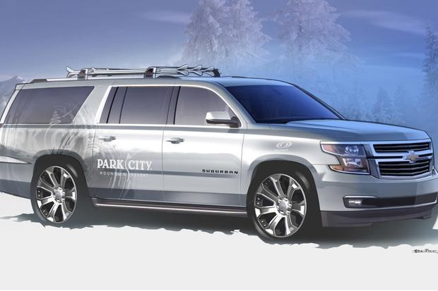 2015 Chevrolet Suburban and Tahoe Concepts: SEMA Show featured image large thumb5